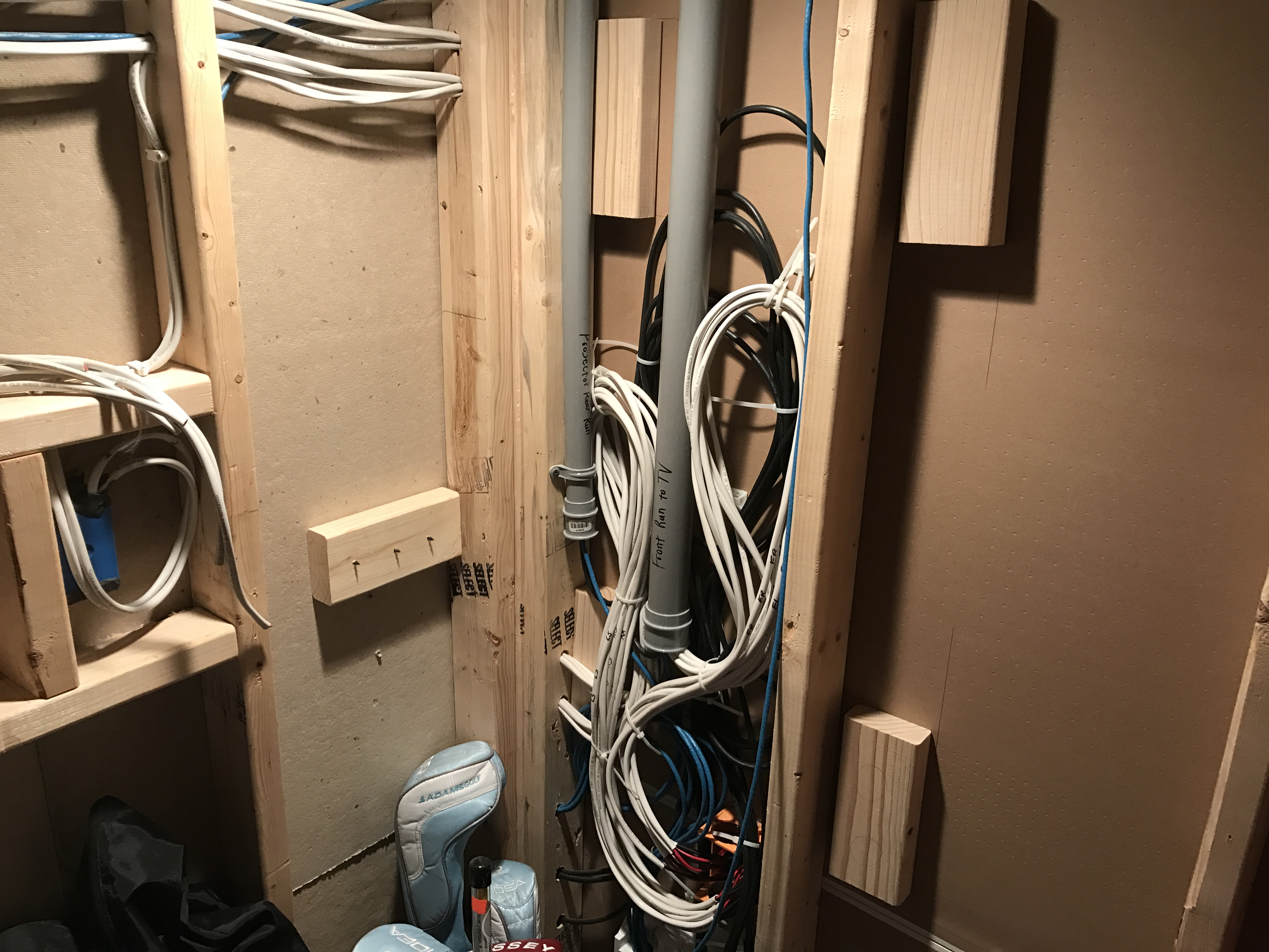 official jtr speakers subwoofer th page avs forum just a few bonus pics of where my receiver movies are as well as how i have all of the wiring situated for the room half the basement is finished the ht